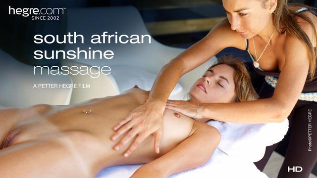 Massage sous le soleil Sud Africain