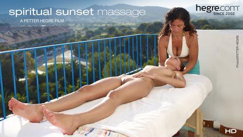 Spiritual Sunset Massage