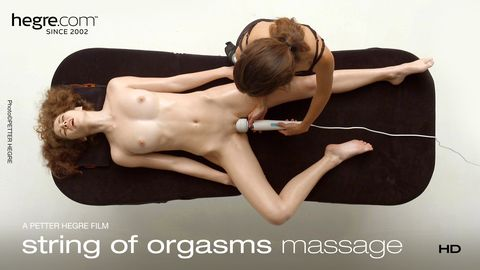 String Of Orgasms Massage