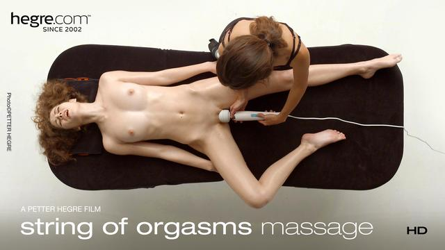 String Of Orgasms Massage