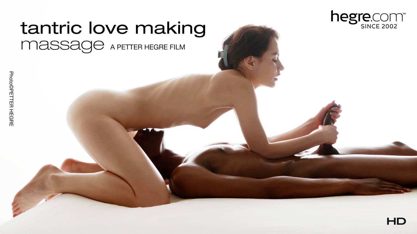 Tantric love making massage hegre
