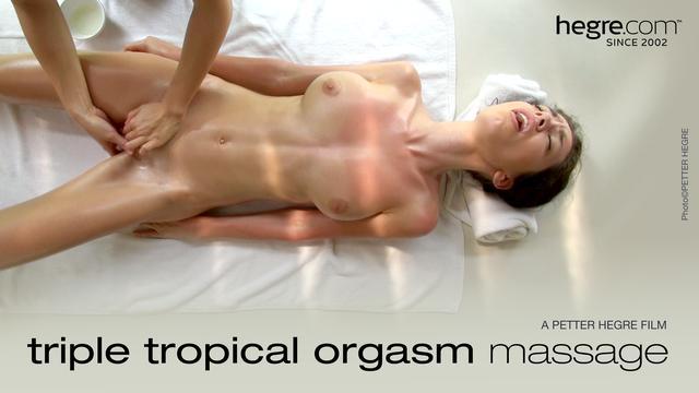 TripleTropical Orgasm Massage