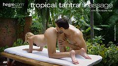 Tropische Tantramassage