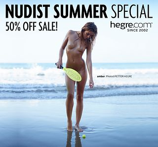 50% OFF Nudist Summer Sale: A Playful Spirit