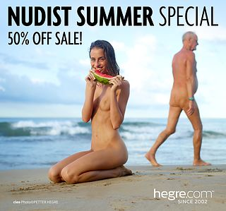 50% OFF Nudist Summer Sale: Clothing Optional