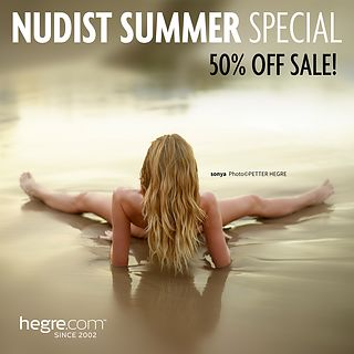 50% OFF Nudist Summer Sale: Commune with Nature