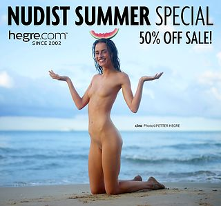 50% OFF Nudist Summer Sale: Eat Light, Live Right
