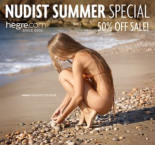 50% OFF Nudist Summer Sale: Fill Up Your Senses