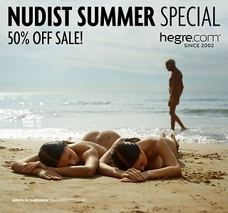 50% OFF Nudist Summer Sale: Hegre Inspiro