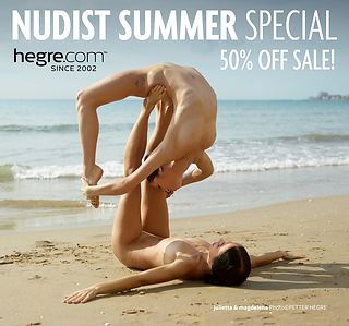 50% OFF Nudist Summer Sale: Here Comes the Sun