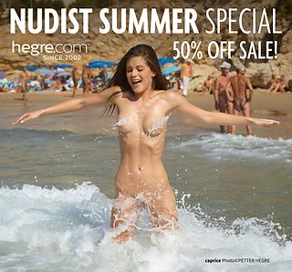 50% OFF Nudist Summer Sale: Hit the Beach