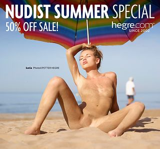 50% OFF Nudist Summer Sale: Make More Sand Castles