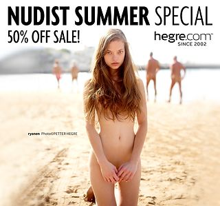 50% OFF Nudist Summer Sale: Naked and Unashamed