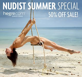 50% OFF Nudist Summer Sale: The Rhythms of Bliss