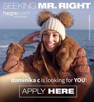 Sind SIE  der Mann für Dominika C?