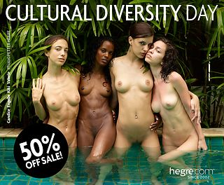 Cultural Diversity Day Special - 50% OFF on all memberships!