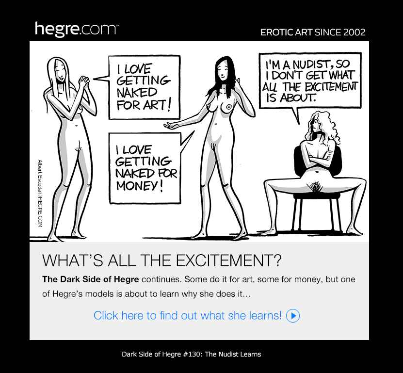 Dark Side of Hegre #130: The Nudist Learns