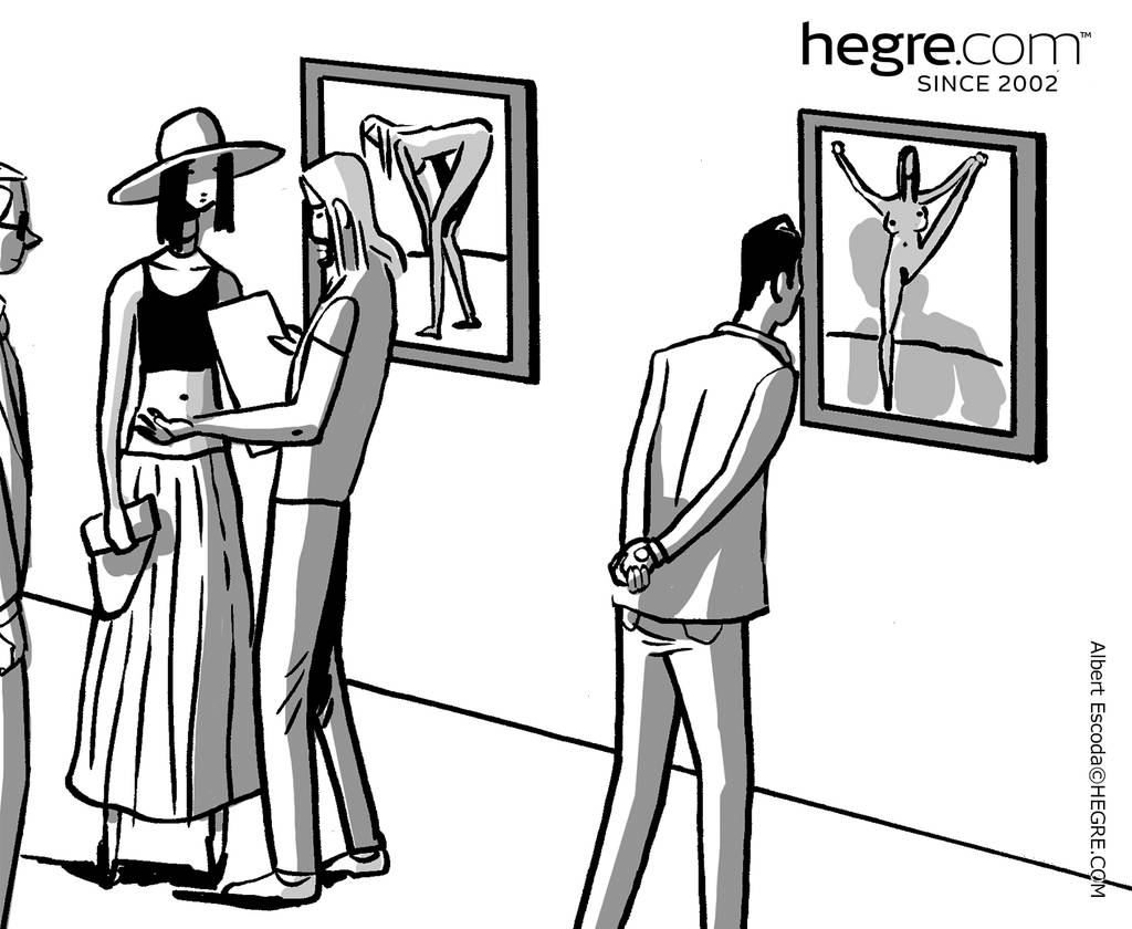 Dark Side of Hegre #148: Fine Art