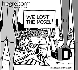 Dark Side of Hegre #54: A Hegre model disappears at a nude beach…