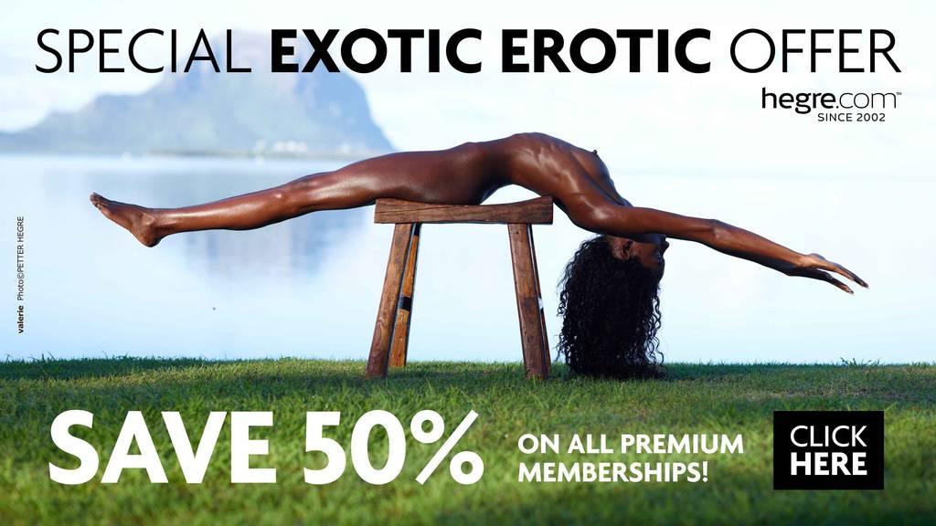 Exotisches Erotik Spezial 50% RABATT Angebot !