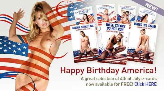 Free July 4th e-cards