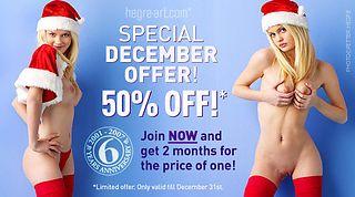 50% Off in December!!