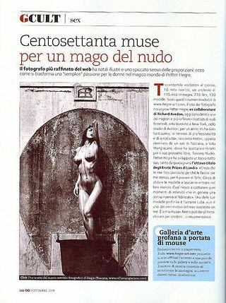 Hegre.com In Italian GQ Magazine
