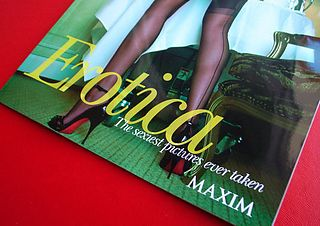 "Petter Hegre Appears in Maxim ""Erotica"""