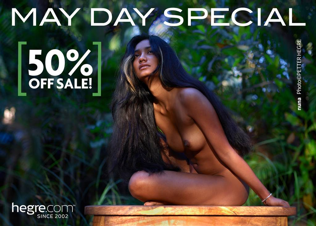 May Day Special - 50% OFF on all memberships!
