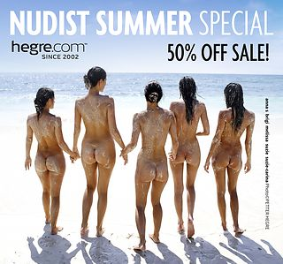 50% OFF Nudist Summer Sale: Naked is Freedom