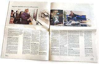 Petter Hegre Featured in Stavanger Aftenblad