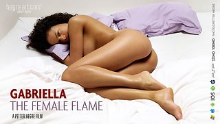 The female flame will melt you