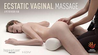 Vaginal Massage, Orgasmic Face