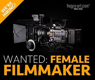 Wanted: Talented female filmmaker