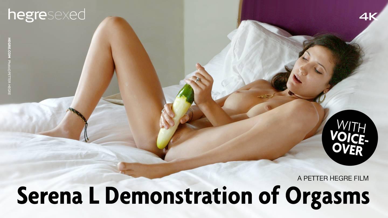 Serena L Demonstration of Orgasms