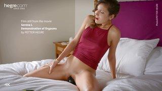 Of serena orgasms demonstration Foreskin orgasm